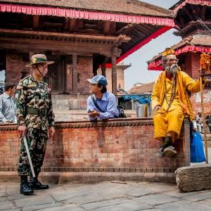 Nepal Moderne und Tradition