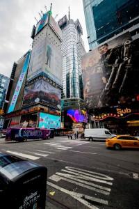 New York Cinderella bus