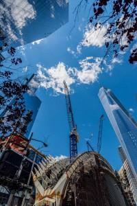 New York Sky Ground Zero