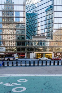 New York Mirror Facade