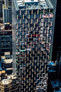 New York Reflecting Facade