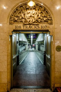 New York Grand Central Station Track 107 & 108