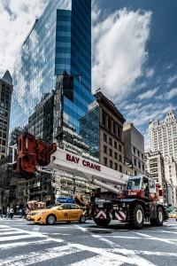 New York Street Bay Crane