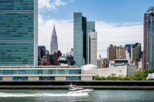 New York Skyline Boat