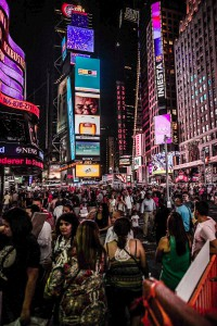 New York City at Night Times Square