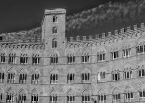 Italy Tuscany black&white