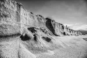 Italy Tuscany black&white Beach