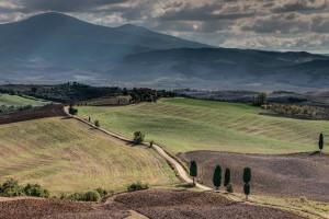 Italy Tuscany Landscape HDR 3 Gladiators